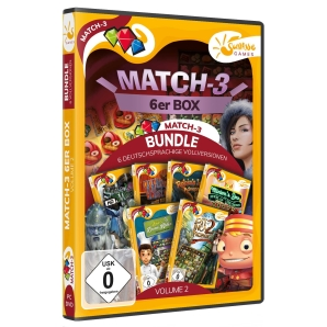 Match-3 6er Box Volume 02, PC