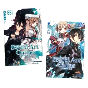 Sword Art Online Light Novel 1 und 2 Aincrad