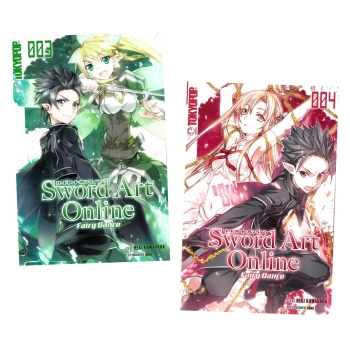 Sword Art Online Light Novel 3 und 4 Fairy Dance