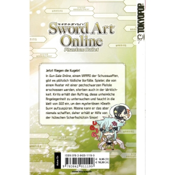 Sword Art Online Light Novel 5 und 6 Phantom Bullet