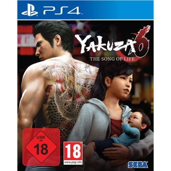 Yakuza 6: The Song of Life, Sony PS4