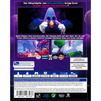 Trover Saves The Universe, Sony PS4