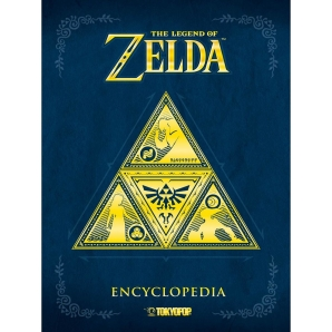 The Legend of Zelda - Encyclopedia, Dt. Artbook