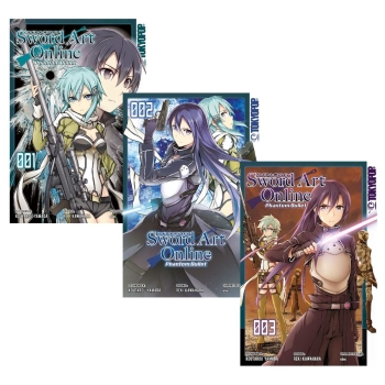Sword Art Online - Phantom Bullet Manga 1-3