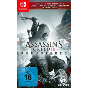 Assassins Creed III 3 Remastered, Switch