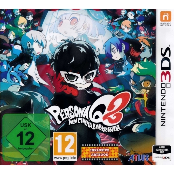 Persona Q2: New Cinema Labyrinth, 3DS