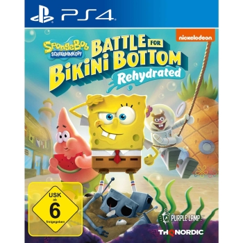Spongebob SquarePants: Battle for Bikini Bottom - Rehydrated, Sony PS4