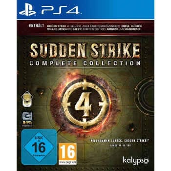 Sudden Strike 4: Complete Collection, PC / PS4 / Xbox One