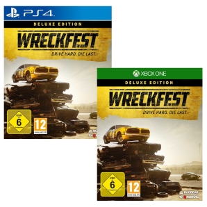 Wreckfest Deluxe Edition, Sony PS4 und Xbox One