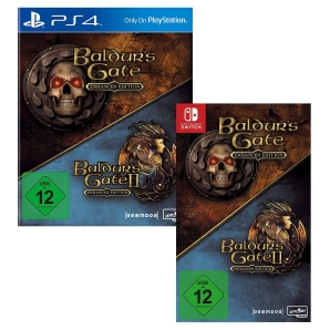 Baldur´s Gate Enhanced Edition, PS4/Switch