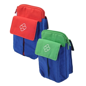 Nintendo Switch Soft Bag Tasche Blau-Grün/Rot