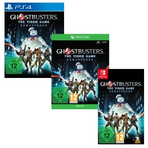 Ghostbusters The Video Game Remastered, PS4/Xbox One/Switch