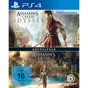 Assassins Creed Origins + Assassins Creed Odyssey, Sony PS4
