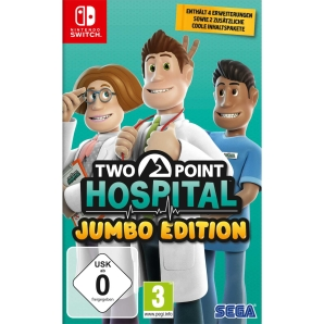 Two Point Hospital Jumbo Edition, Nintendo Switch