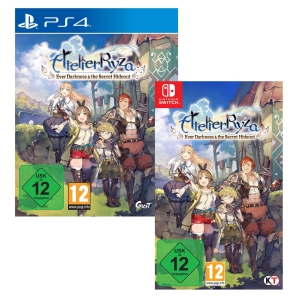 Atelier Ryza: Ever Darkness & the Secret Hideout, Switch/PS4