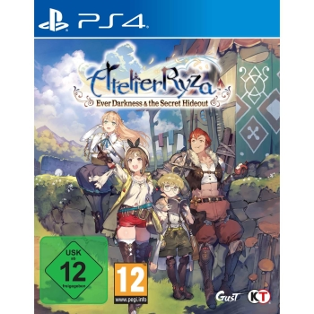 Atelier Ryza: Ever Darkness & the Secret Hideout, Sony PS4