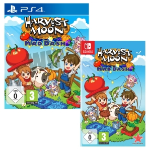 Harvest Moon Mad Dash, Switch/PS4