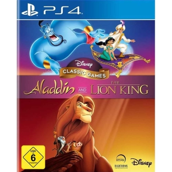 Disney Classic Games Aladdin and The Lion King, Sony PS4
