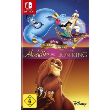 Disney Classic Games Aladdin and The Lion King, Nintendo Switch