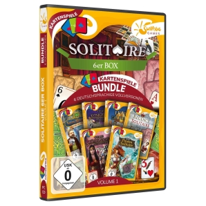 Solitaire 6er Box Volume 01, PC