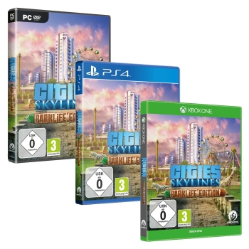 Cities: Skylines - Parklife Edition, PC/PS4/Xbox One
