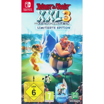 Asterix & Obelix XXL3 - Der Kristall-Hinkelstein - Limited Edition, Switch