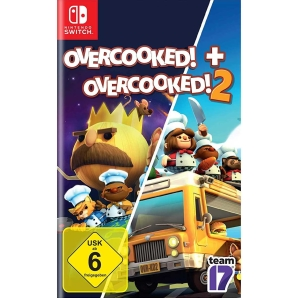 Overcooked + Overcooked! 2 Double Pack, Switch