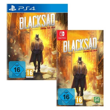 Blacksad Limited Edition, PS4/Switch