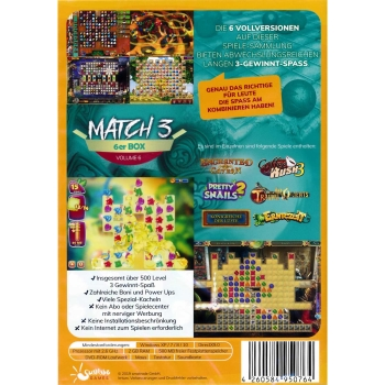 Match-3 6er Box Volume 06, PC