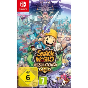 Snack World: Die Schatzjagd - Gold, Switch