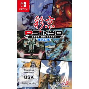 Psikyo Shooting Stars Alpha Limited Edition, Switch