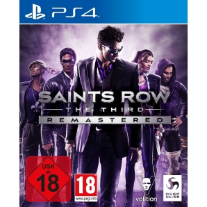 Saints Row 3 The Third Remastered, Sony PS4