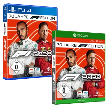 F1 2020 70 Jahre F1 Edition, PS4/XBOX One