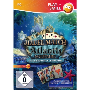 Jewel Match: Atlantis Solitaire Collectors Edition, PC
