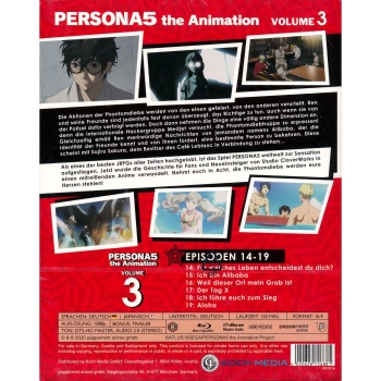 PERSONA5 the Animation Vol. 3 (Episoden 14-19) BluRay