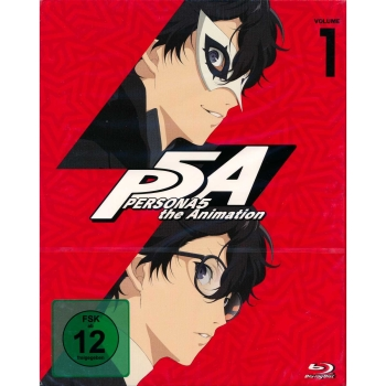 PERSONA5 the Animation Vol. 1-4 (Episoden 1-26) + The Specials BluRay