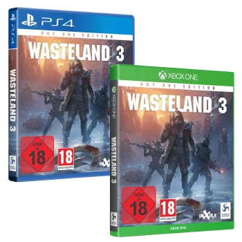 Wasteland 3 Day One Edition, PS4/XBOX One