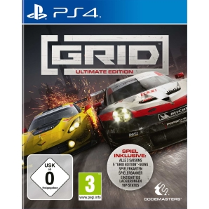 GRID Ultimate Edition, Sony PS4