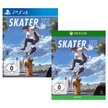 Skater XL, PS4/Xbox One