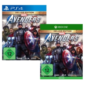 Marvel´s Avengers Deluxe Edition, PS4/Xbox One