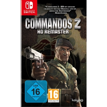 Commandos 2 - HD Remaster, Switch