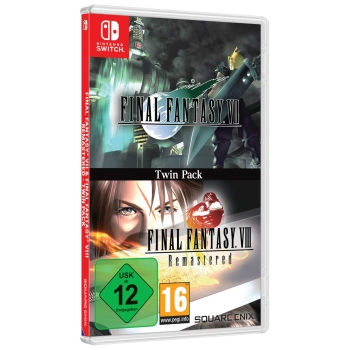 Final Fantasy VII & Final Fantasy VIII Remastered Twin Pack, Switch
