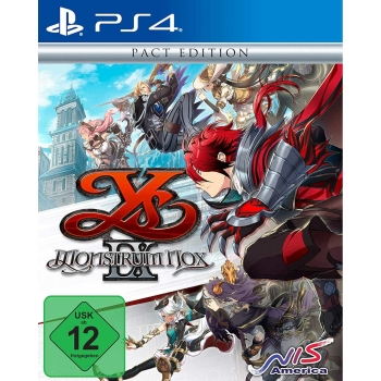 Ys IX: Monstrum Nox Pact Edition, Sony PS4