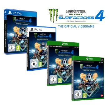 Monster Energy Supercross 4 - The Official Videogame, PS4/PS5/Xbox One/Xbox Series X
