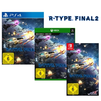R-Type Final 2 - Inaugural Flight Edition, PS4/Xbox/Switch