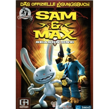 Sam & Max - Season one 1, offiz. Dt. Lösungsbuch
