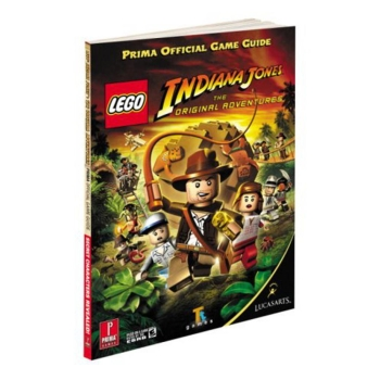 Lego Indiana Jones, offiz. Lösungsbuch / Strategy Guide
