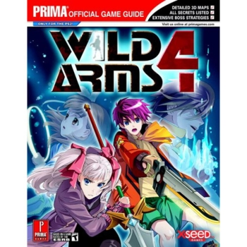 Wild Arms 4 IV, offiz. Lösungsbuch / Strategy Guide