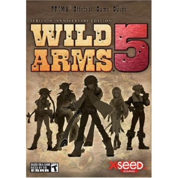 Wild Arms 5 V, offiz. Lösungsbuch / Strategy Guide