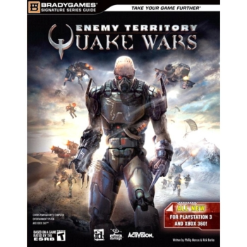 Enemy Territory Quake Wars, PS3 XBOX360 Lösungsbuch / Strategy Guide